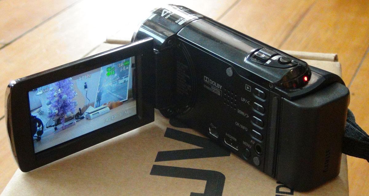 JVC Everio 1080p Digital Video Camera Camcorder Full HD w 40x Zoom